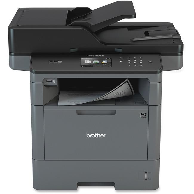 Brother DCP-L5600DN Laser Multifunction Printer - Monochrome - Plain Paper Print - Desktop