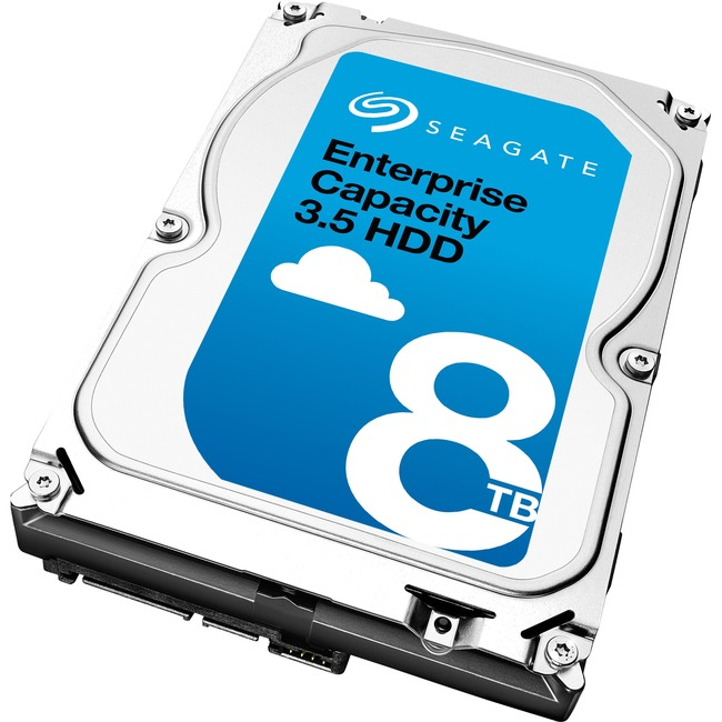 SEAGATE OEM 8TB ENT CAP 3.5 HDD SATA 7200RPM 256MB 3.5IN NO ENCRYPTION