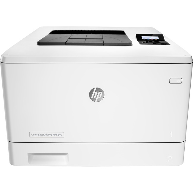 HP LaserJet Pro M452NW Laser Printer - Color - Plain Paper Print - Desktop