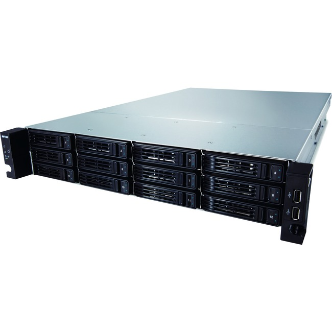 Buffalo TeraStation TS-2RZH96T12D 12 x Total Bays NAS Server - 2U - Rack-mountable