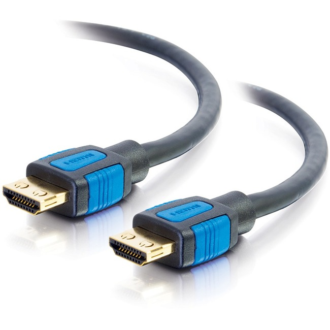 C2G 5ft High Speed HDMI Cable With Gripping Connectors