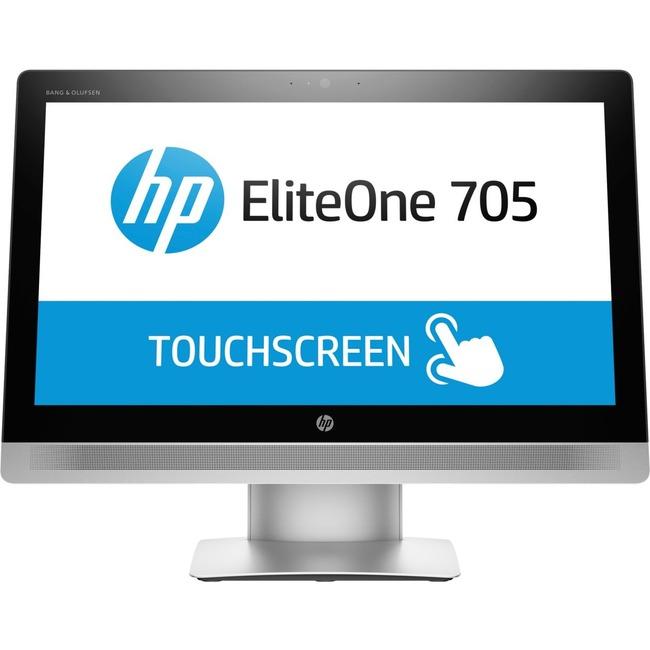 """HP EliteOne 705 G2 All-in-One Computer - AMD A-Series A4 PRO-8350B 3.50 GHz - 4 GB DDR3 SDRAM - 500 GB HDD - 23"""" 1920 x"""