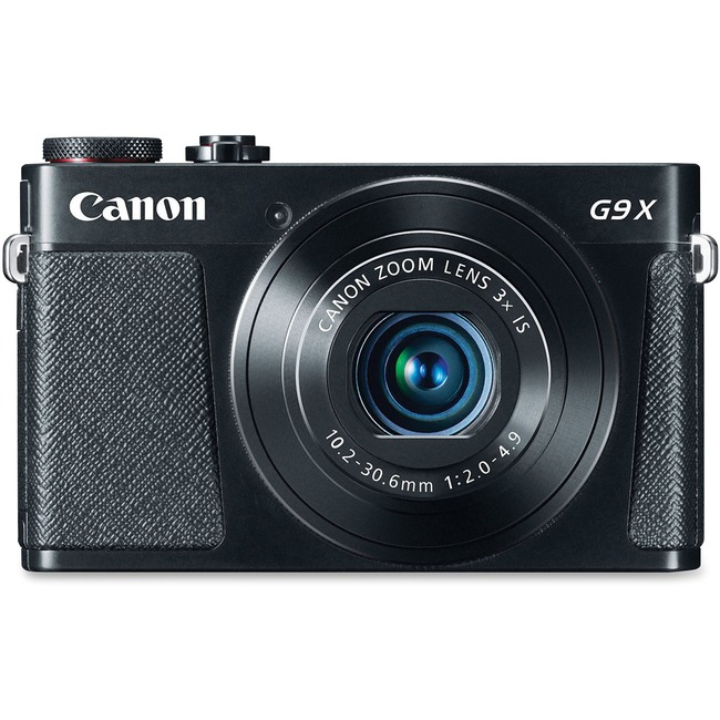 Canon PowerShot G9 X 20.2 Megapixel Compact Camera - Black