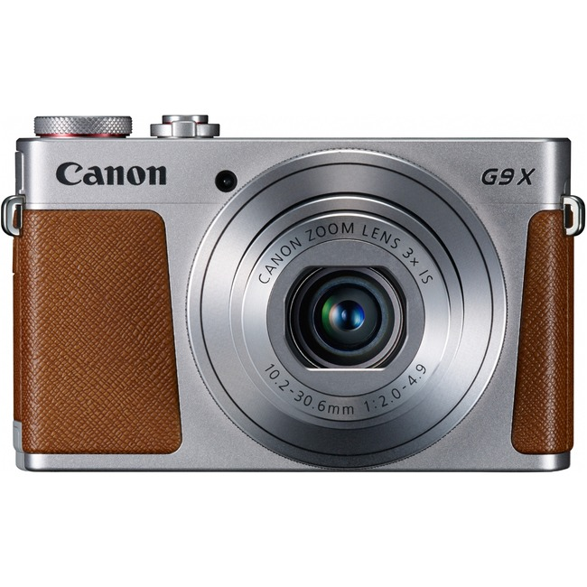 Canon PowerShot G9 X 20.2 Megapixel Compact Camera - Silver