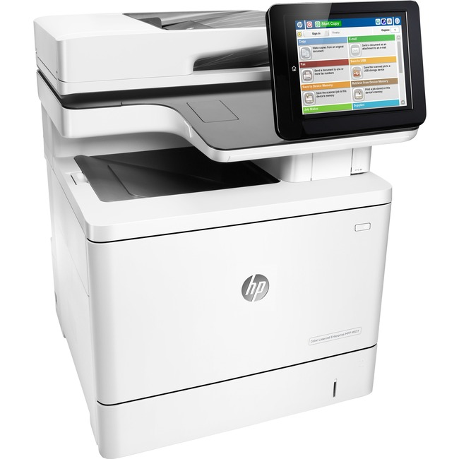 HP LaserJet M577z Laser Multifunction Printer - Color - Plain Paper Print - Desktop