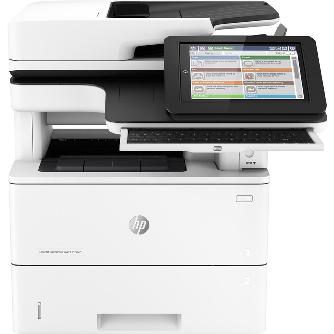HP LaserJet M527c Laser Multifunction Printer - Monochrome - Plain Paper Print