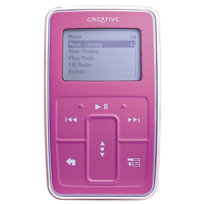 Manufacturers Product Description Creatives Zen Micro Is The Digital Audio Player