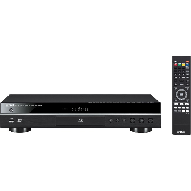 yamaha bd s677 blu ray disc player product overview. Black Bedroom Furniture Sets. Home Design Ideas