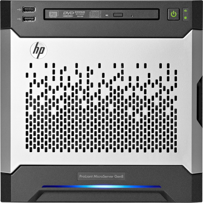 HP ProLiant MicroServer Ultra Micro Tower Server - 1 x Intel Core i3 (3rd Gen) i3-3240 Dual-core (2 Core) 3.40 GHz