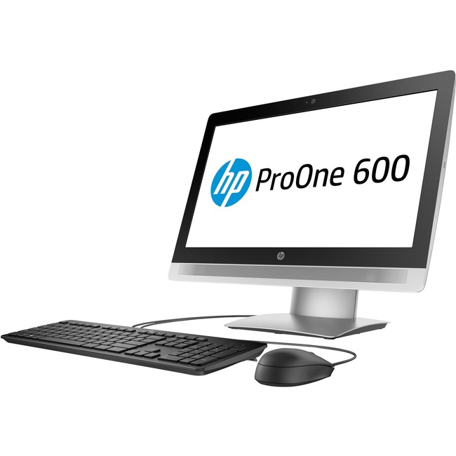 HP Business Desktop ProOne 600 G2 All-in-One Computer - Intel Core i5 i5-6500 3.20 GHz - Desktop - Black, Silver