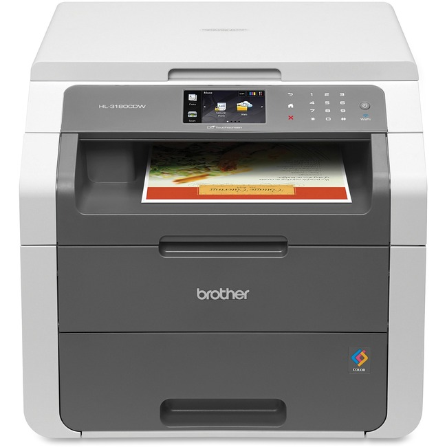 Brother HL-3180CDW LED Multifunction Printer - Color - Plain Paper Print - Desktop
