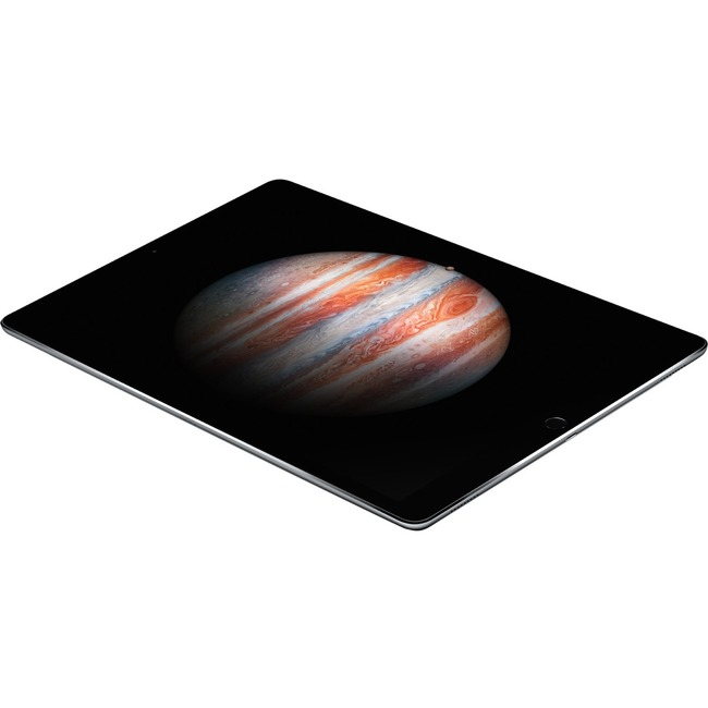 Apple iPad Pro Tablet - 32.8 cm 12.9inch - Apple A9X - 32 GB - iOS 9 - Retina Display - Space Gray - Wireless LAN - Bluetooth - Lightning - Digital Compass, Gyro Sens