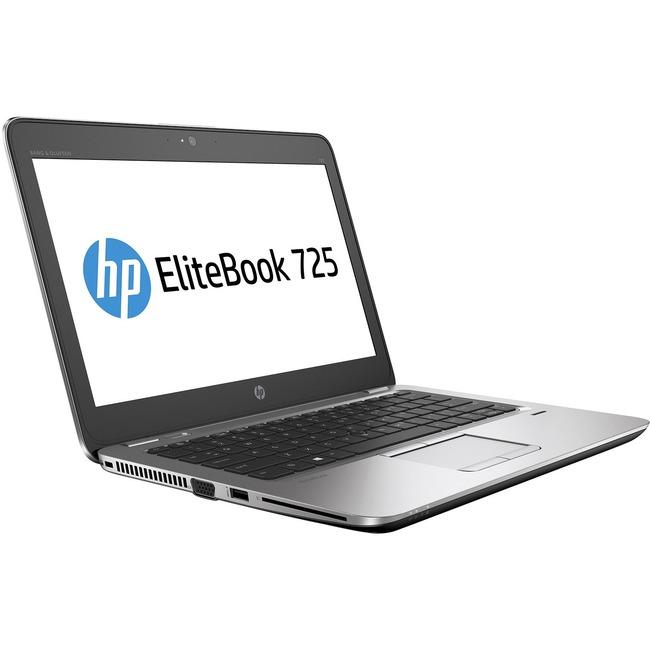 """HP EliteBook 725 G3 12.5"""" Notebook - AMD A-Series A12-8800B Quad-core (4 Core) 2.10 GHz"""