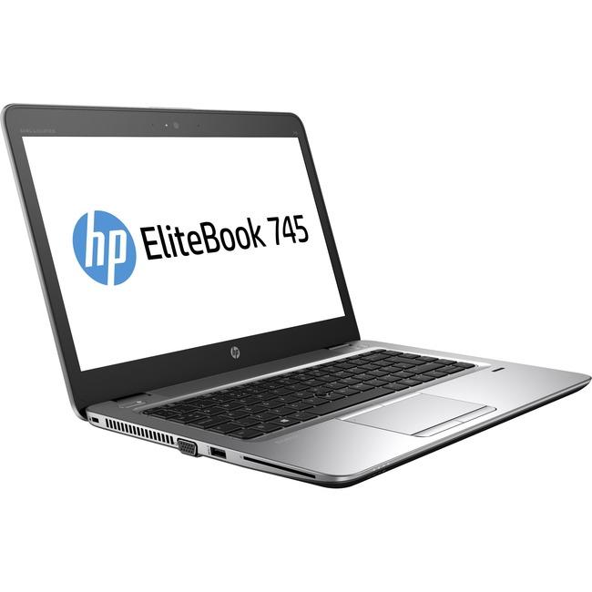 """HP EliteBook 745 G3 14"""" Notebook - AMD A-Series A12-8800B Quad-core (4 Core) 2.10 GHz"""