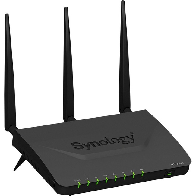 Synology RT1900ac IEEE 802.11ac Ethernet Wireless Router - 2.40 GHz ISM Band