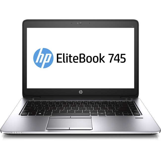 "HP EliteBook 745 G2 14"" LCD Notebook - AMD A-Series A10 Pro-7350B Quad-core (4 Core) 2.10 GHz - 8 GB DDR3L SDRAM - 128 G"