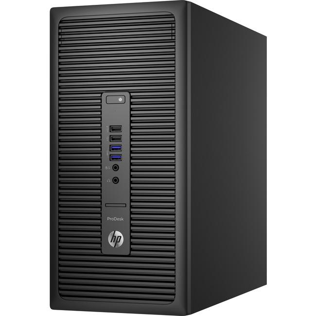 HP Business Desktop ProDesk 600 G2 Desktop Computer - Intel Core i3 (6th Gen) i3-6100 3.70 GHz - Micro Tower