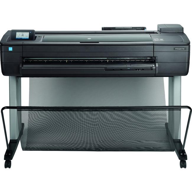 """HP Designjet T730 Inkjet Large Format Printer - 36"""" Print Width - Color"""