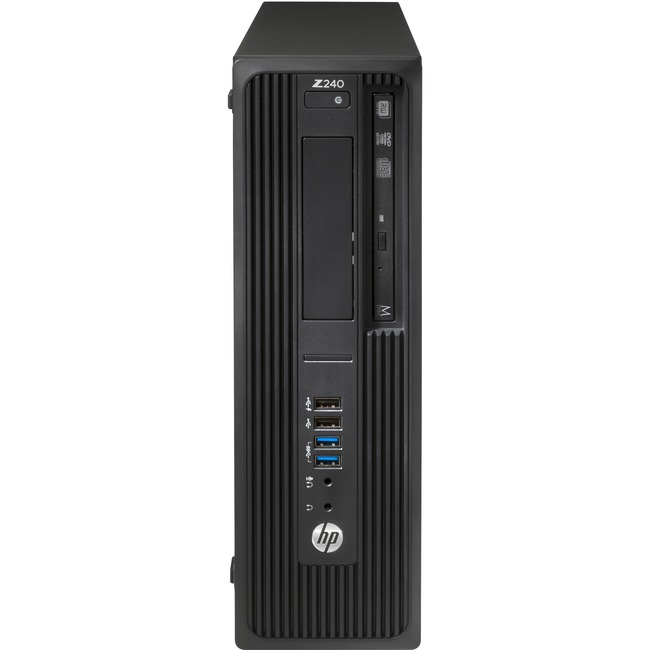 HP Z240 Small Form Factor Workstation - 1 x Processors Supported - 1 x Intel Xeon E3-1225 v5 Quad-core (4 Core) 3.30 GHz