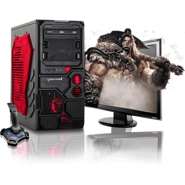 CybertronPC Borg-709 TGMBG70945RD Desktop Computer - AMD FX-Series FX-6300 3.50 GHz - Mid-tower - Red