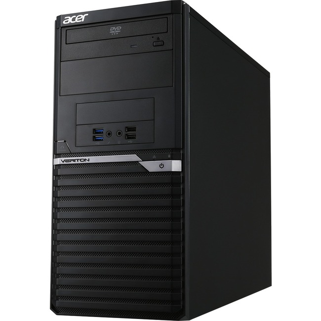 Acer Veriton M4640G Desktop Computer - Intel Core i7 (6th Gen) i7-6700 3.40 GHz