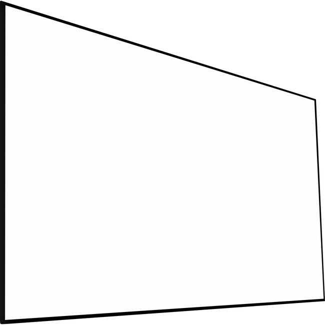 """EluneVision Reference Studio Fixed Frame Projection Screen   100""""   16:9"""