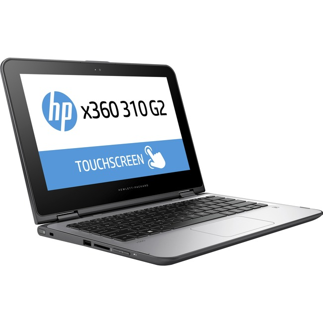 "HP x360 310 G2 11.6"" Touchscreen LED (In-plane Switching (IPS) Technology) 2 in 1 Netbook - Intel Pentium N3700 Quad-cor"