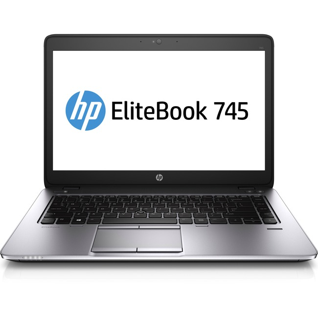 "HP EliteBook 745 G2 14"" Notebook - AMD A-Series A10-8700B Quad-core (4 Core) 1.80 GHz - 4 GB DDR3L SDRAM - 500 GB HDD"