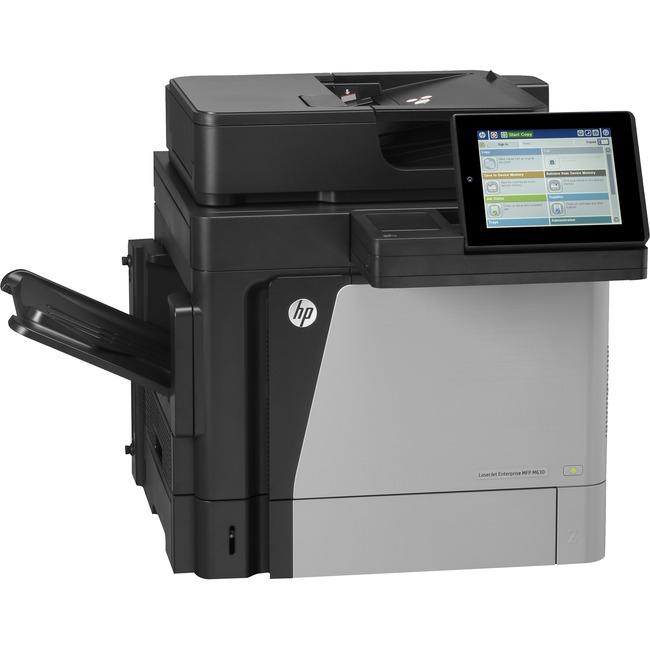 HP LaserJet M630h Laser Multifunction Printer - Monochrome - Plain Paper Print - Desktop