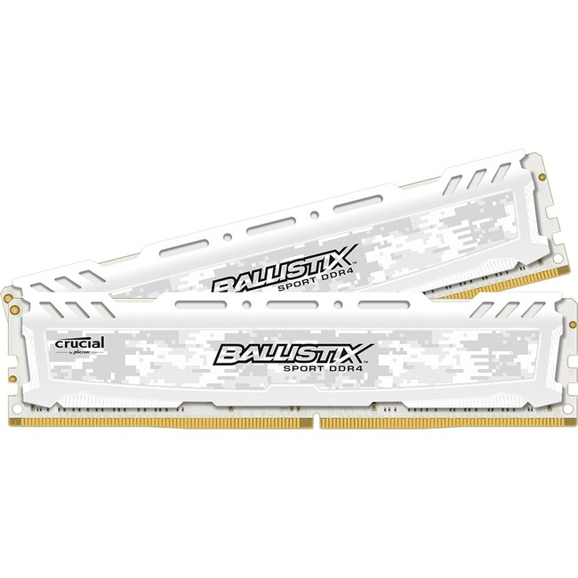 Ballistix Sport LT RAM Module - 32 GB 2 x 16 GB - DDR4 SDRAM - 2400 MHz DDR4-2400/PC4-19200 - 1.20 V - Non-ECC - Unbuffered - CL17 - 288-pin - DIMM