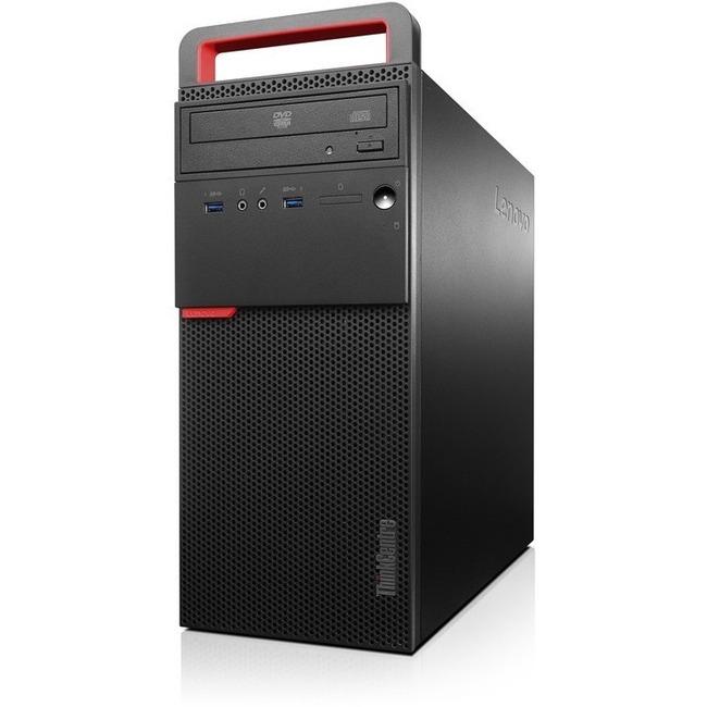 Lenovo ThinkCentre M700 10GR0029US Desktop Computer | Intel Core i3 (6th Gen) i3-6100 3.70 GHz | 4 GB DDR4 SDRAM | 500 GB HDD | Windows 7 Professional 64-bit (English) upgradable to Windows 10 Pro | Tower