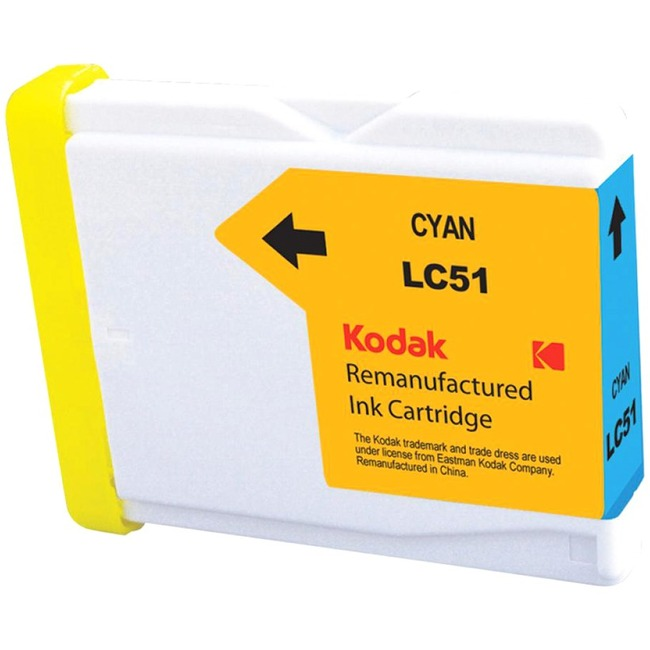 eReplacements Remanufactured Ink Cartridge - Alternative for Brother (LC51, LC51BK, LC51BK-KD, LC51C, LC51C-KD, LC51M, L