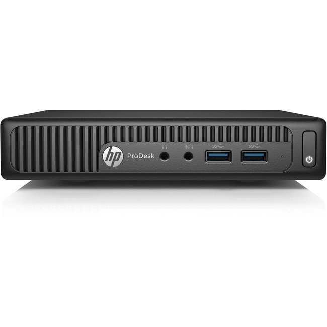 HP Business Desktop ProDesk 400 G2 Desktop Computer - Intel Pentium G4400T 2.90 GHz - Desktop Mini
