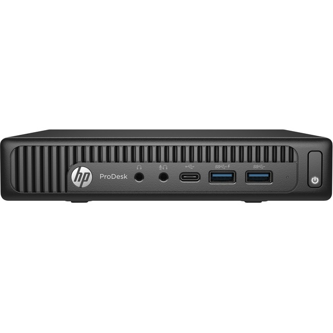 HP Business Desktop ProDesk 600 G2 Desktop Computer - Intel Core i7 (6th Gen) i7-6700T 2.80 GHz - 4 GB DDR4 SDRAM - 500