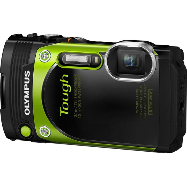 Olympus Tough TG-870 16 Megapixel Compact Camera - Green