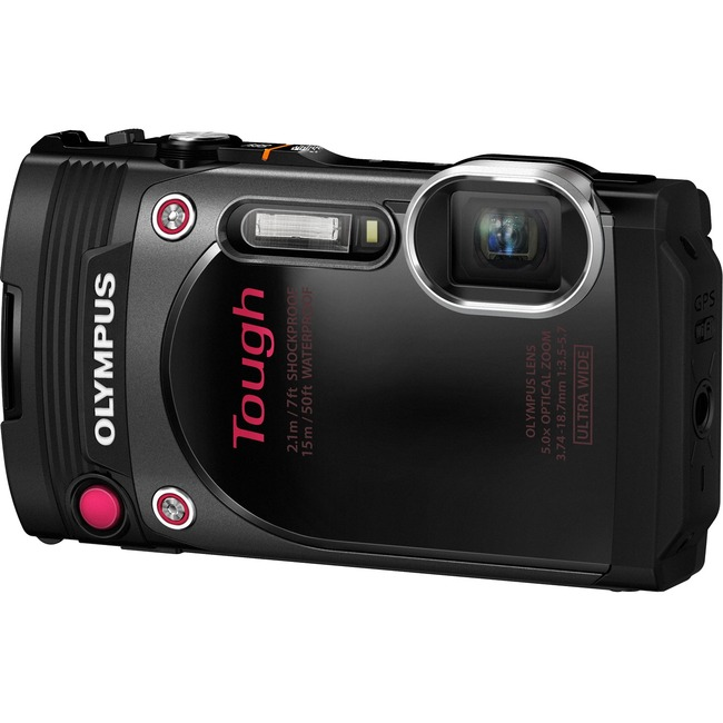 Olympus Tough TG-870 16 Megapixel Compact Camera - Black