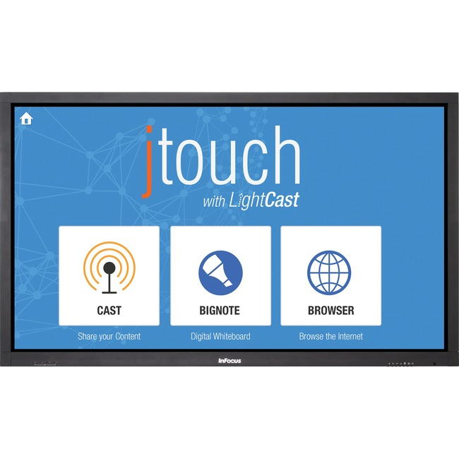 "InFocus JTouch INF6501cp 65"" Edge LED LCD Touchscreen Monitor - 16:9 - 6.50 ms"