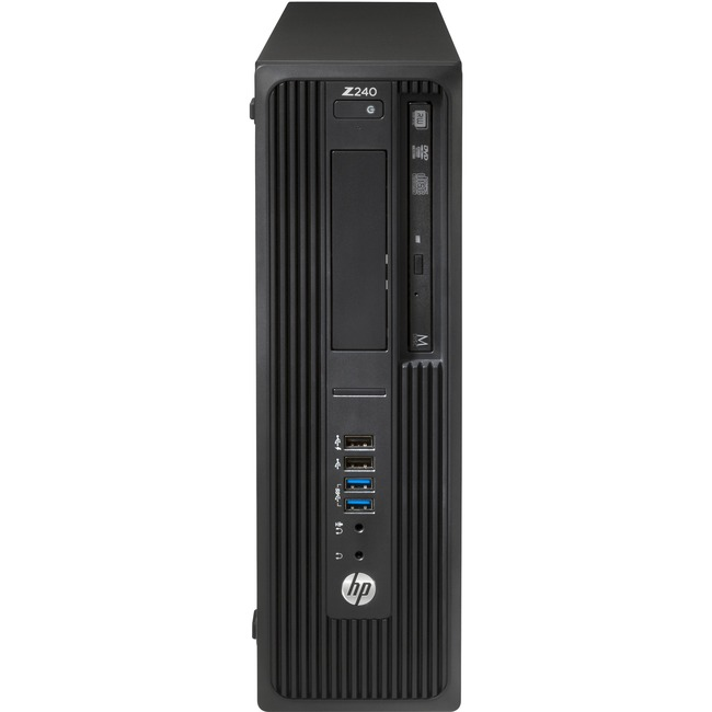 HP Z240 Small Form Factor Workstation - 1 x Processors Supported - 1 x Intel Xeon E3-1270 v5 Quad-core (4 Core) 3.60 GHz