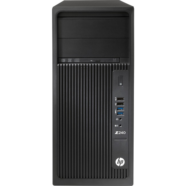 HP Z240 Tower Workstation - 1 x Processors Supported - 1 x Intel Core i7 (6th Gen) i7-6700 Quad-core (4 Core) 3.40 GHz -