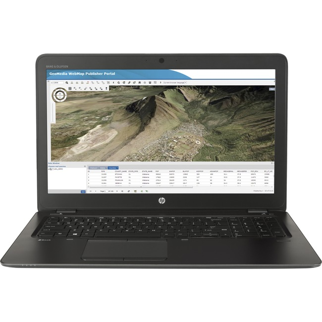 "HP ZBook 15u G3 15.6"" Mobile Workstation 