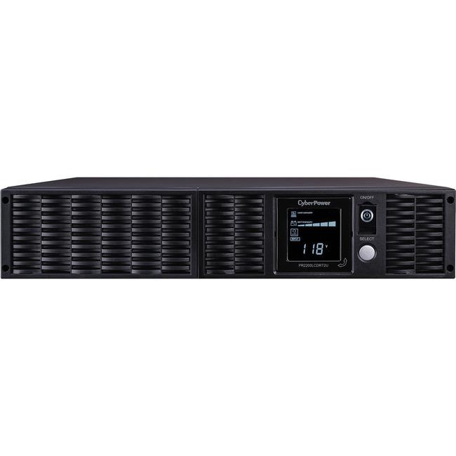 CyberPower Smart App Sinewave PR2200LCDRT2UN 2150VA Tower/Rack Mountable UPS