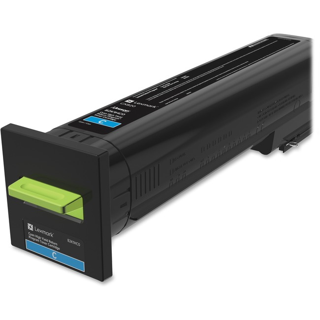 CX820 Cyan High Yield Return Program Toner Cartridge