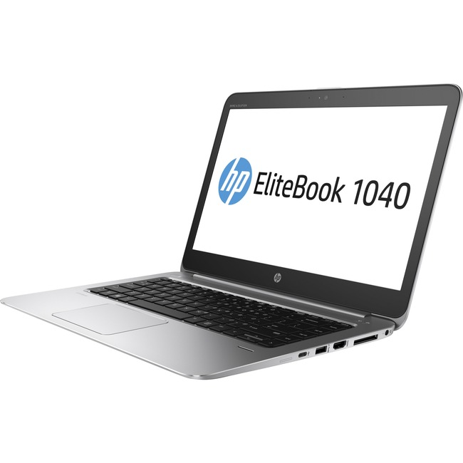 "HP EliteBook 1040 G3 14"" Notebook - Intel Core i5 (6th Gen) i5-6300U Dual-core (2 Core) 2.40 GHz - 16 GB DDR4 SDRAM - 25"