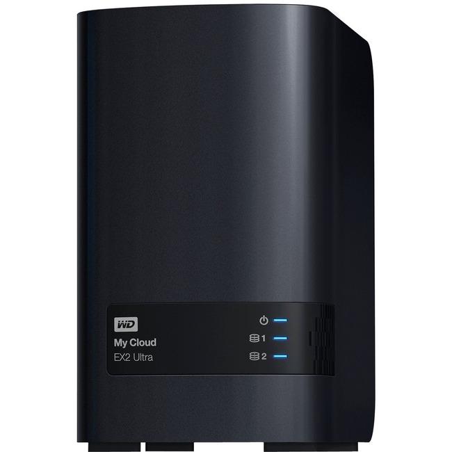 WDBVBZ0000NCH-NESN WD Diskless My Cloud EX2 Ultra Network Attached Storage | NAS | WDBVBZ0000NCH-NESN