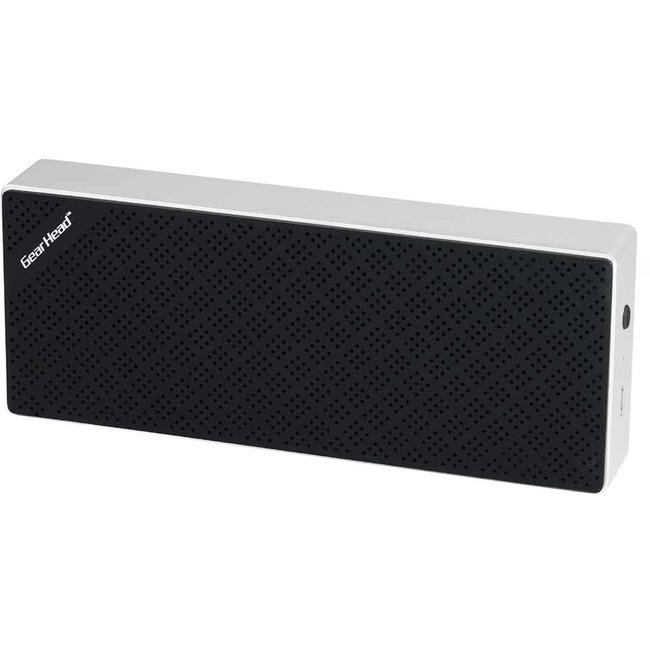 Gear Head BT8500BLK Speaker System - Portable - Battery Rechargeable - Wireless Speaker(s)