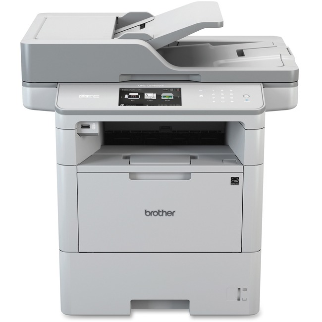 Brother MFC-L6750DW Laser Multifunction Printer - Monochrome - Duplex