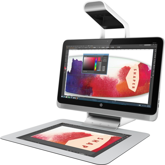 """HP Sprout Pro 23-s411 All-in-One Computer - Intel Core i7 (6th Gen) i7-6700 3.40 GHz - 8 GB DDR4 SDRAM - 1 TB HHD - 23"""""""