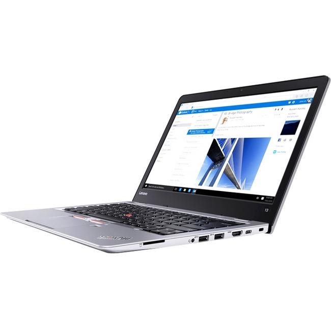 "Lenovo ThinkPad 13 20GJ000XUS 13.3"" Ultrabook - Intel Celeron 3855U Dual-core (2 Core) 1.60 GHz - 4 GB DDR4 SDRAM - 128"