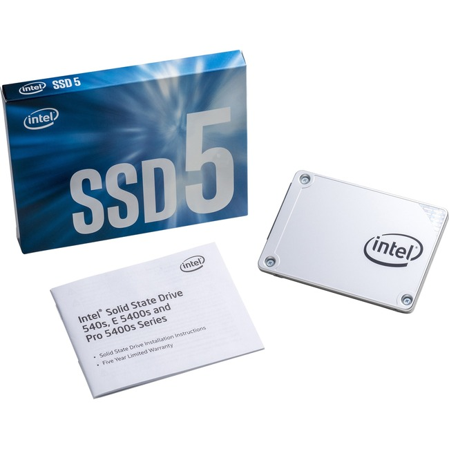 "Intel 540s 120 GB 2.5"" Internal Solid State Drive"