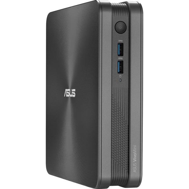 Asus VivoMini VC65R-G039M Desktop Computer - Intel Core i5 (6th Gen) i5-6400T 2.20 GHz DDR3L SDRAM - Mini PC - Iron Gray